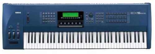 YAMAHA EX5 Keyboard Synthesizer Sampler Effects Unit Drum Machine Workstation