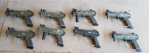 TONS OF PAINT BALL GUNS, GEAR AND PAINT BALLS (ready to employ)