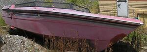 Ski Boat for restoration - trade for trailer