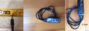 Two AC/DC Adapter Power Supply/Chargers