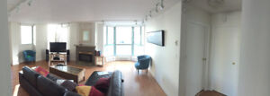 Large bedroom + private bath in the beautiful WestEnd