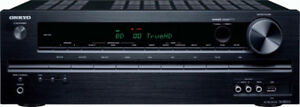 Onkyo TX-SR313 5.1- Channel Home Theater A/V Receiver, Black