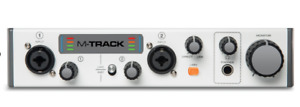 M-Audio M-Track MKII Two-Channel USB Audio Interface with Waves
