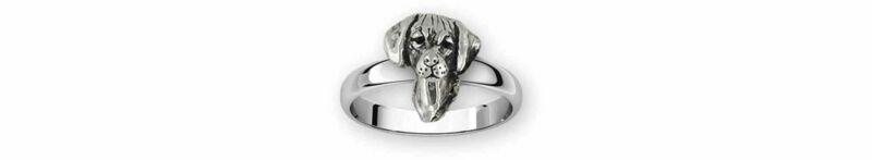 Rhodesian Ridgeback Jewelry Sterling Silver Handmade Rhodesian Ridgeback Ring  R