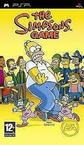 The Simpsons Game (psp tweedehands game)