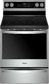 Whirlpool  YWFE975H0HZ 6.4 Cu. Ft. Smart Freestanding Electric Range (BD-2189)