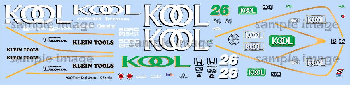 2000 Team Kool Green Decals