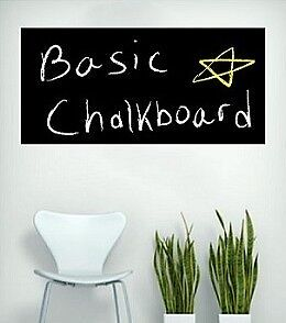 Large Blackboard Removable Vinyl Wall Sticker Chalkboard Decal Chalk Board AU