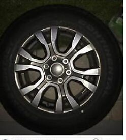 "4 x Brand New 2016/2017 Ford Ranger 18"" Wheels/Alloys"