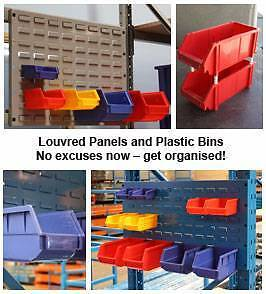 Plastic storage boxes for toolboxes, sheds, and pallet racking Sydney City Inner Sydney Preview