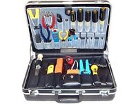 WANTED TECHNICIANS TOOL CASE