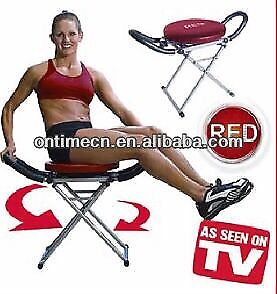 Red max fitness professional core exercise twist chair
