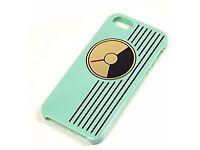 Kate Spade Genuine iPhone 5 / 5s teal (green) radio case