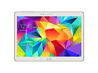 Samsung galaxy tab S 10.5 wifi and cellular white gold