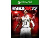 NBA 2K 17 X BOX ONE