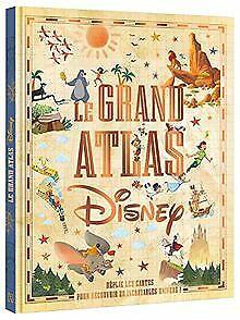 Disney classiques - le grand atlas disney | livre | état très bon