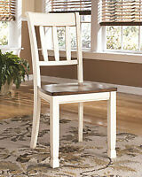 NEW set of six kitchen table chairs