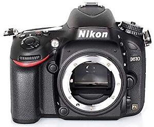 NIKON D610 body in excellent condition w 20851 actuations