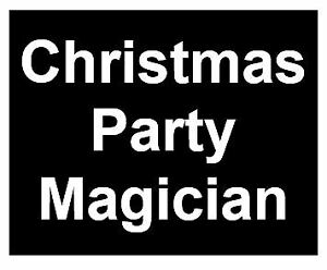 Christmas Party Magician