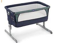 Chicco Next 2 Me Co Sleeping Crib (Denim)