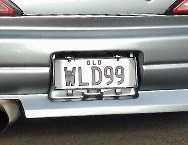 WLD99 (WILD99) Qld Personalised Number Plates $700 ONO.