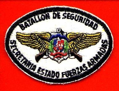 DOMINICAN REPUBLIC NATIONAL SECURITY BATTALION PATCH