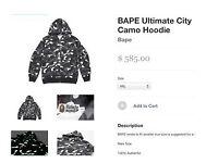 Bape Camo Hoody