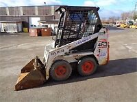 Skid Steer with Operator