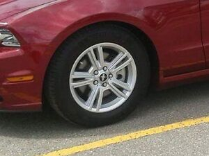 Mustang Winter Tires with Aluminum Rims