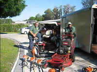 Professional Grass Cutting Lawn Care Aeration Same Day Service