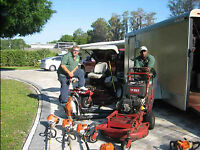 Landscape Gardeners for Hire Grass Cut Lawn Care Garden Mulching