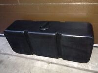 black 125l water tank. New unused.