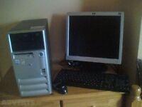 Compaq PC - PENTIUM 4 - 3GB RAM - WINDOWS 7 - WIRELESS - OFFICE 2007 - BUILT IN SPEAKERS