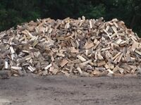 Fire wood dry seasoned oak hard wood cords