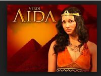 2x Tickets to see Aida at The Alex Theatre