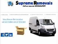 Cheap and the highest standard man and van hire and removal services.