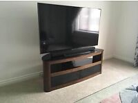 """Walnut TV Stand - holds up to 50"""""""