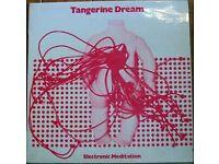 TANGERINE DREAM - Electronic Meditation - 1972 *NEW ZEALAND* Interfusion LP - Very Rare