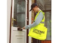 Cash in hand leaflet distributor required Chelmsford area