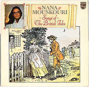 Nana Mouskouri-Songs of The British Isles-Good condition LP +