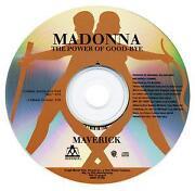 Madonna Promo CD