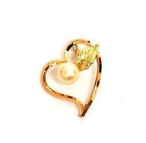 Vintage 14k gold charms ebay vintage 14k gold heart charms mozeypictures Image collections
