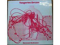 Tangerine Dream - Electronic Meditation - Rare original New Zealand issue on Interfusion