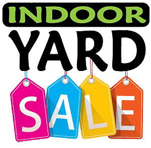 Renting Tables for Indoor Yard Sale
