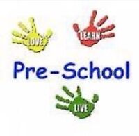 Morning  Preschool Program Ages 2 1/2 and older