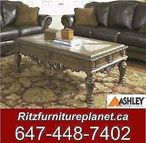 ASHLEY COFFEE TABLE ONLY SALE  FROM $145