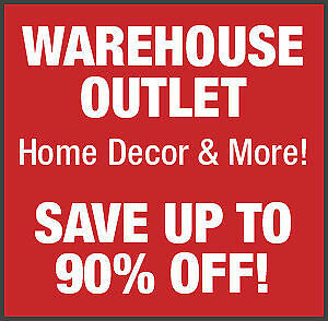 Home Decor Outlet Store - Save 50%-90% off Retail!