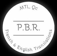 French & English Translations – Unbeatable prices