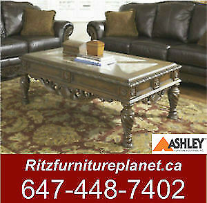 ASHLEY COFFEE TABLE BLOWOUT SALE FROM $145