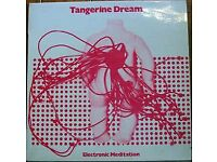 Tangerine Dream - Electronic Meditation - Rare original New Zealand issue on Interfusion